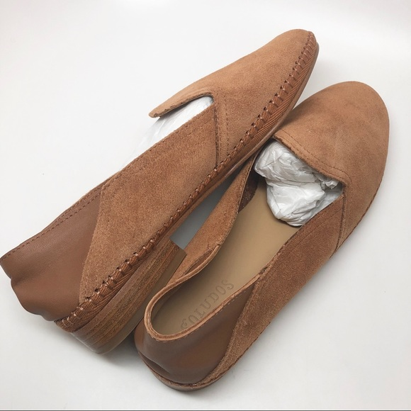 a14c067b339 Soludos • Venetian Loafer Flat Tan 7 New